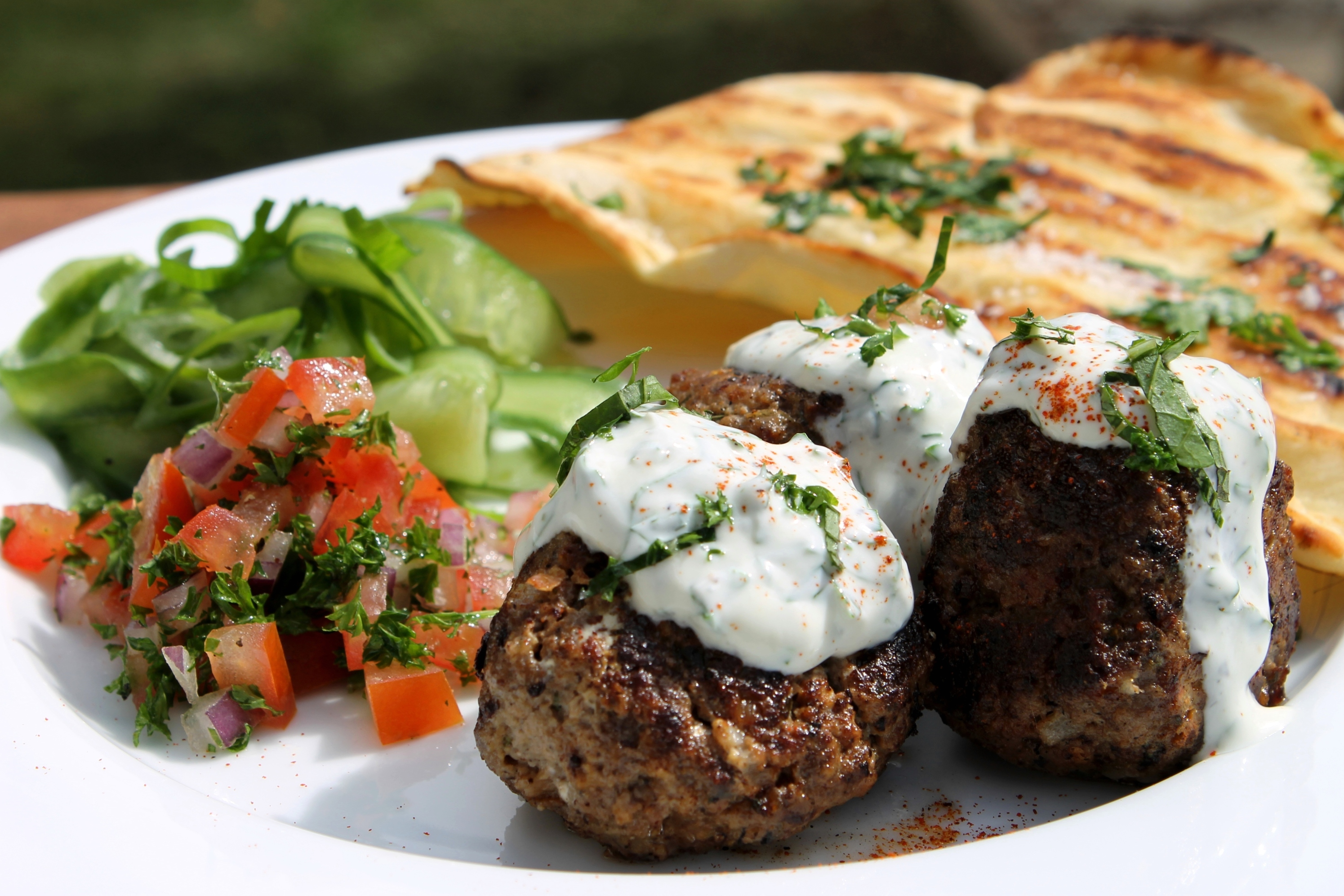 ChelseaWinter.co.nz Lebanese style meatballs recipe with ...