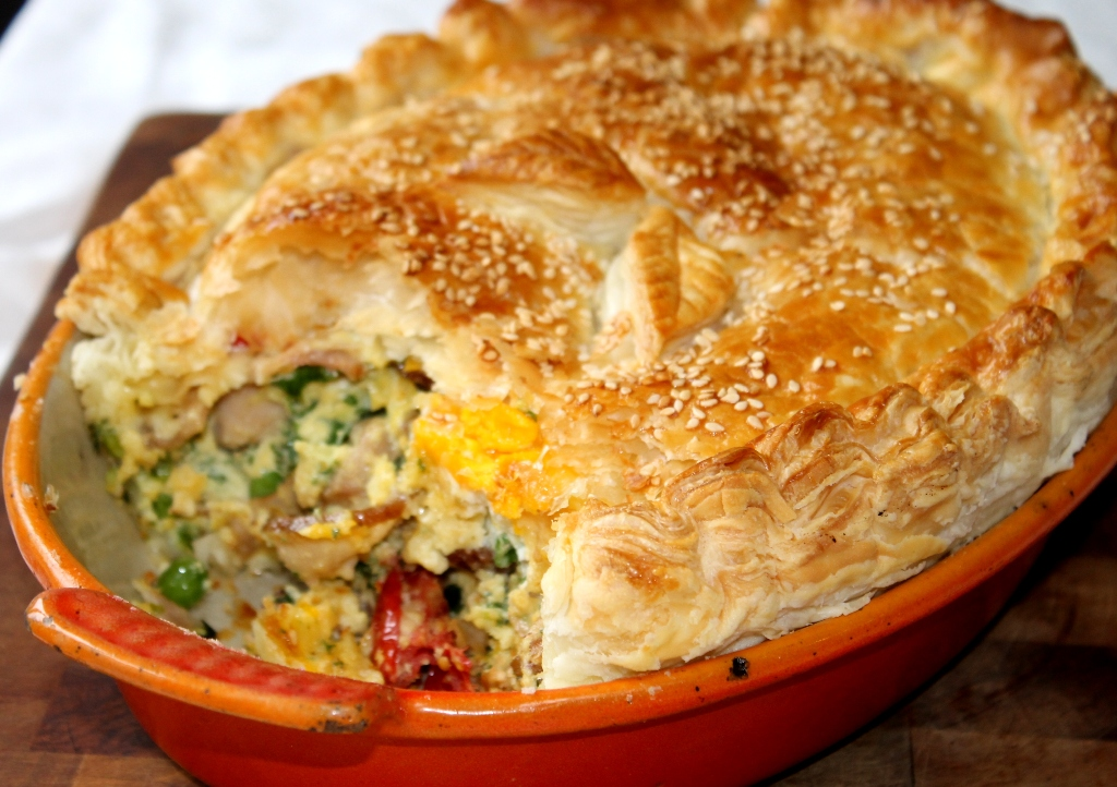 Chelseawinter bacon and egg pie chelseawinter this ccuart Choice Image