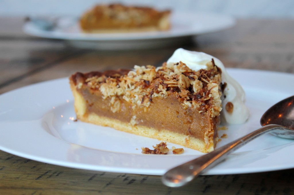 ChelseaWinter.co.nz Decadent spiced pumpkin pie recipe with coconut ...