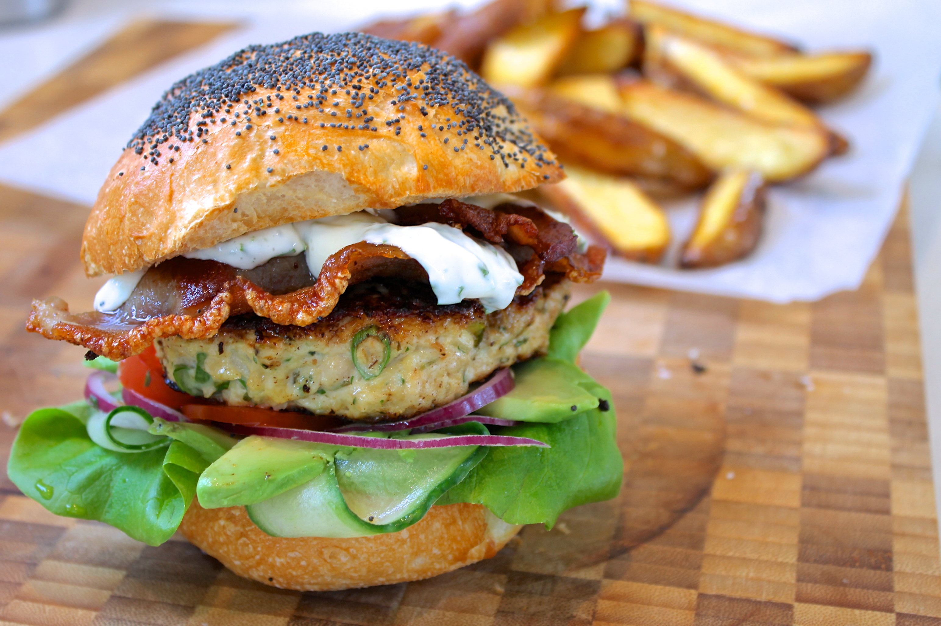 images of chicken burgers - photo #49