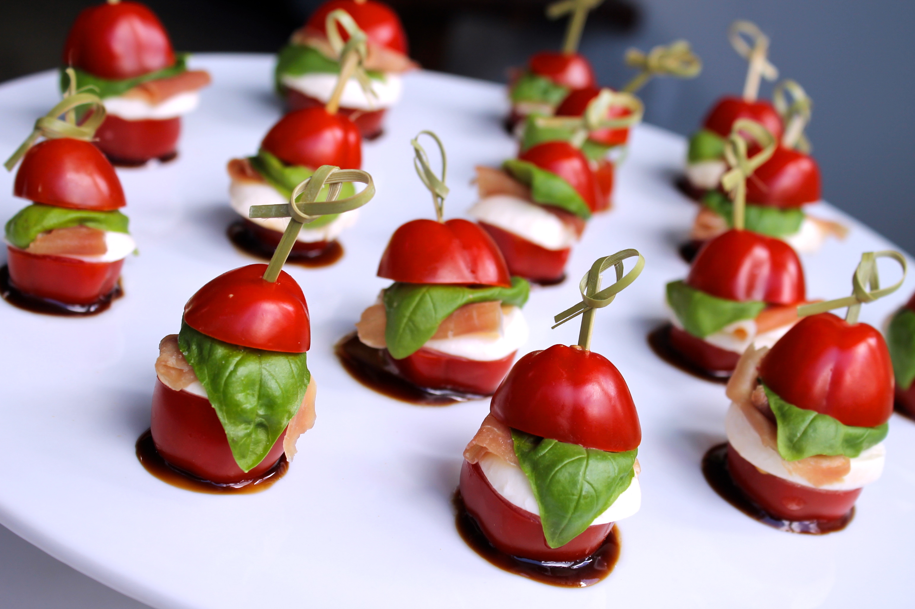 Christmas canap s santap s for Canape menu ideas