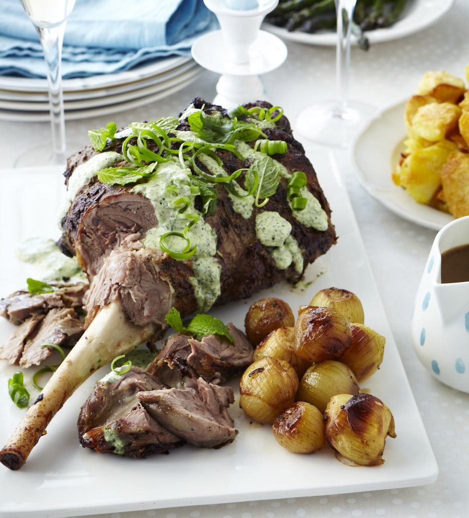 Christmas Roast Lamb Leg