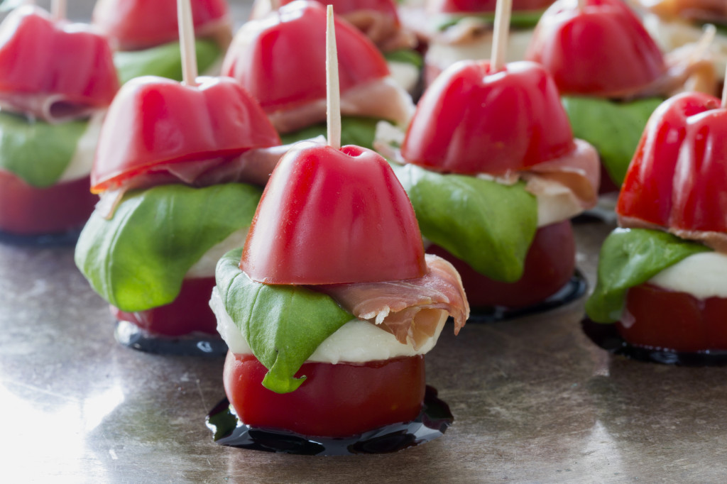 Christmas canap s santap s for Gluten free canape ideas