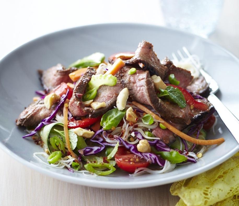 Vietnamese beef salad - ChelseaWinter.co.nz