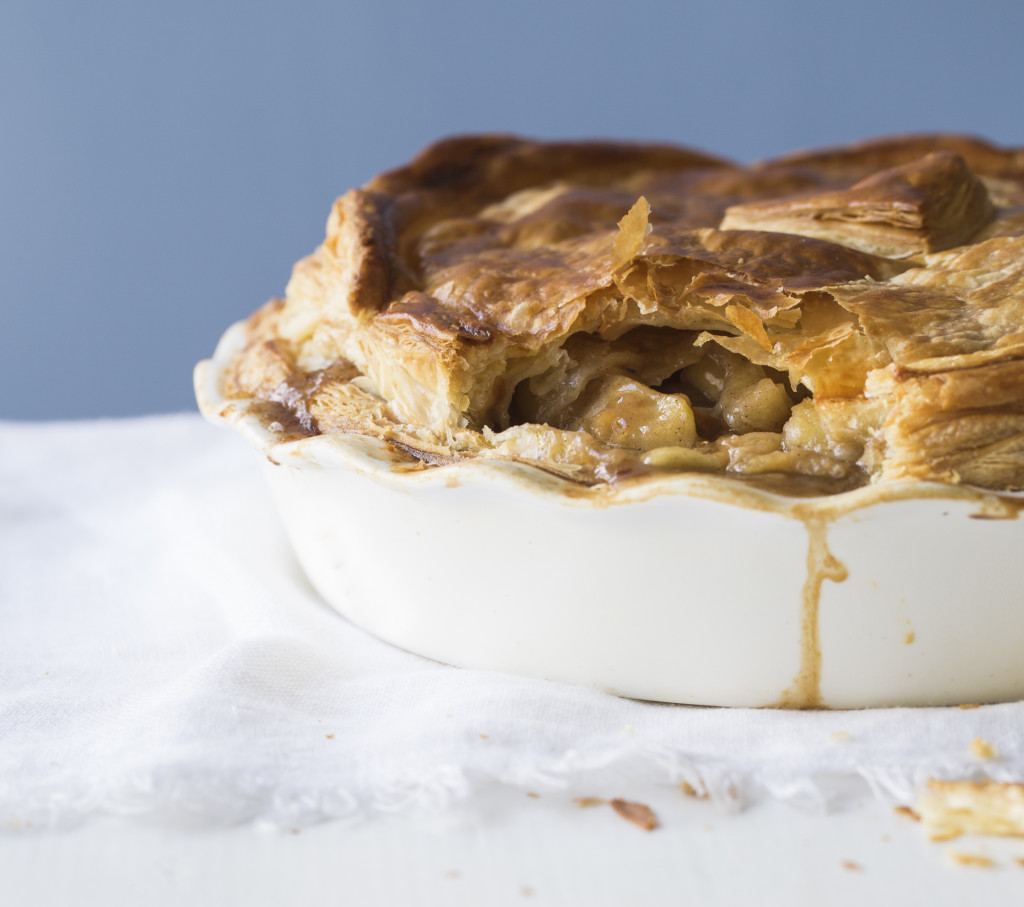 Apple & Feijoa Pie