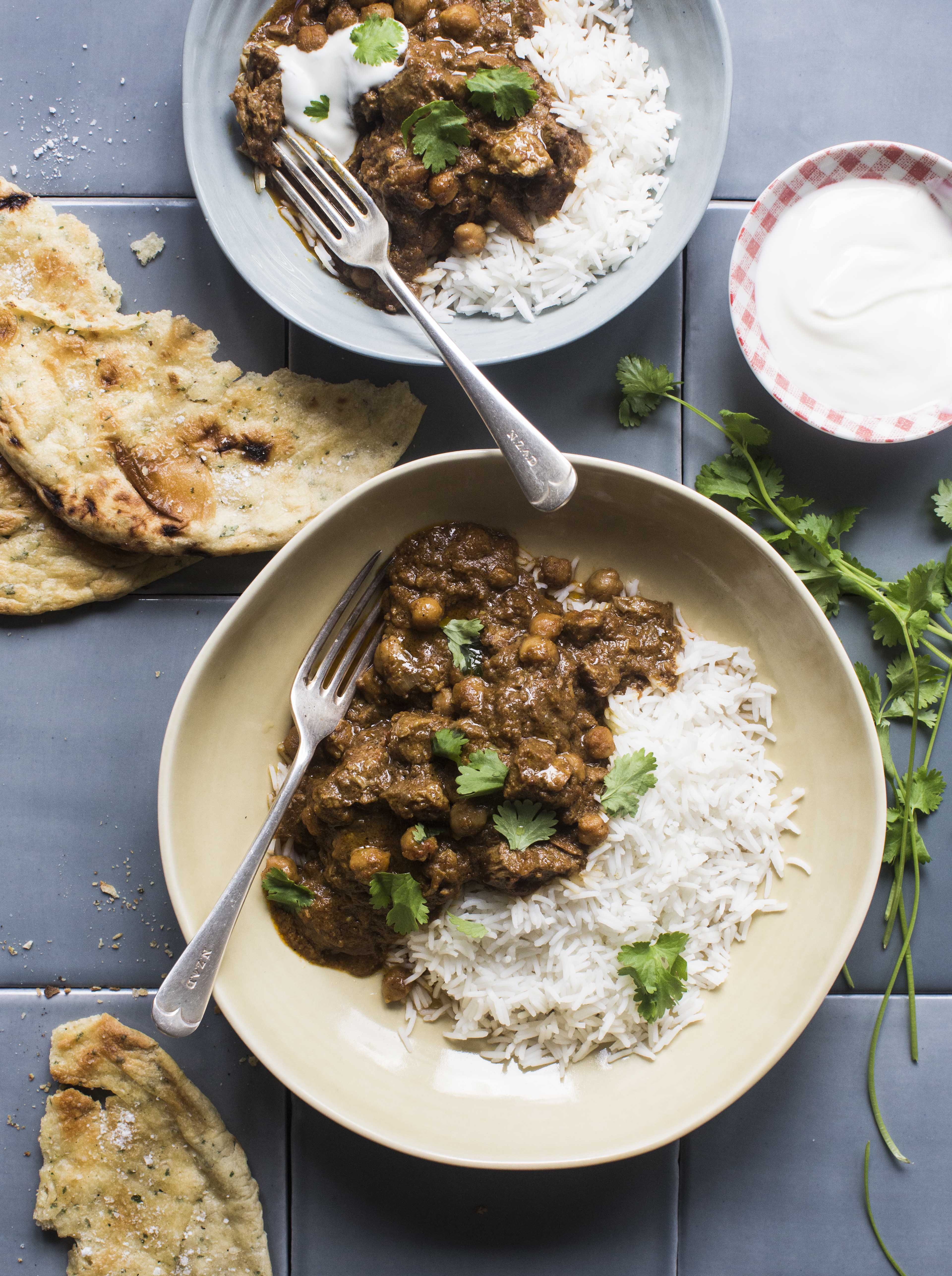Chelseawinter fragrant indian spiced lamb curry fragrant indian spiced lamb curry with chickpeas forumfinder Gallery
