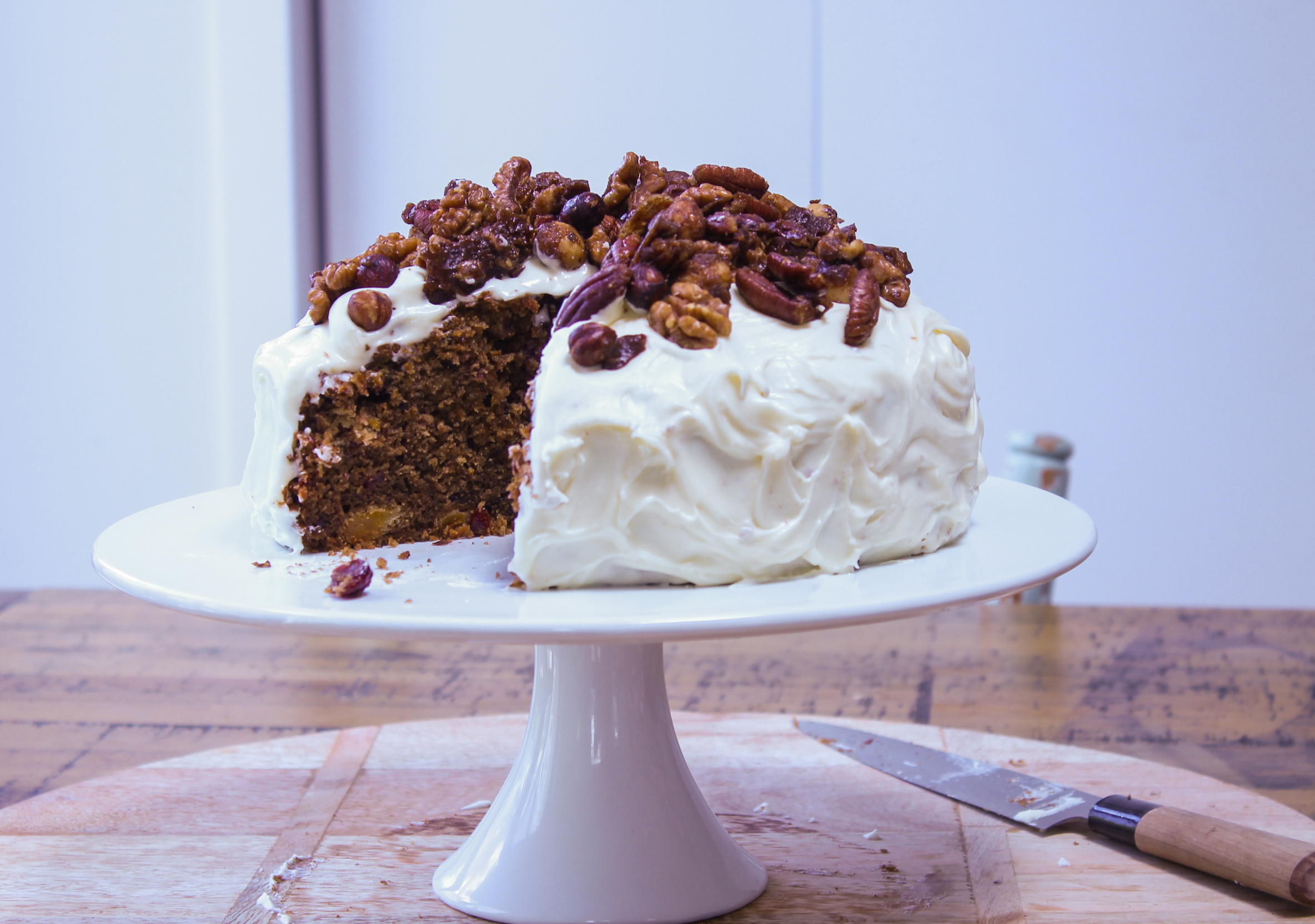 Chelsea Winter Carrot Cake Recipe
