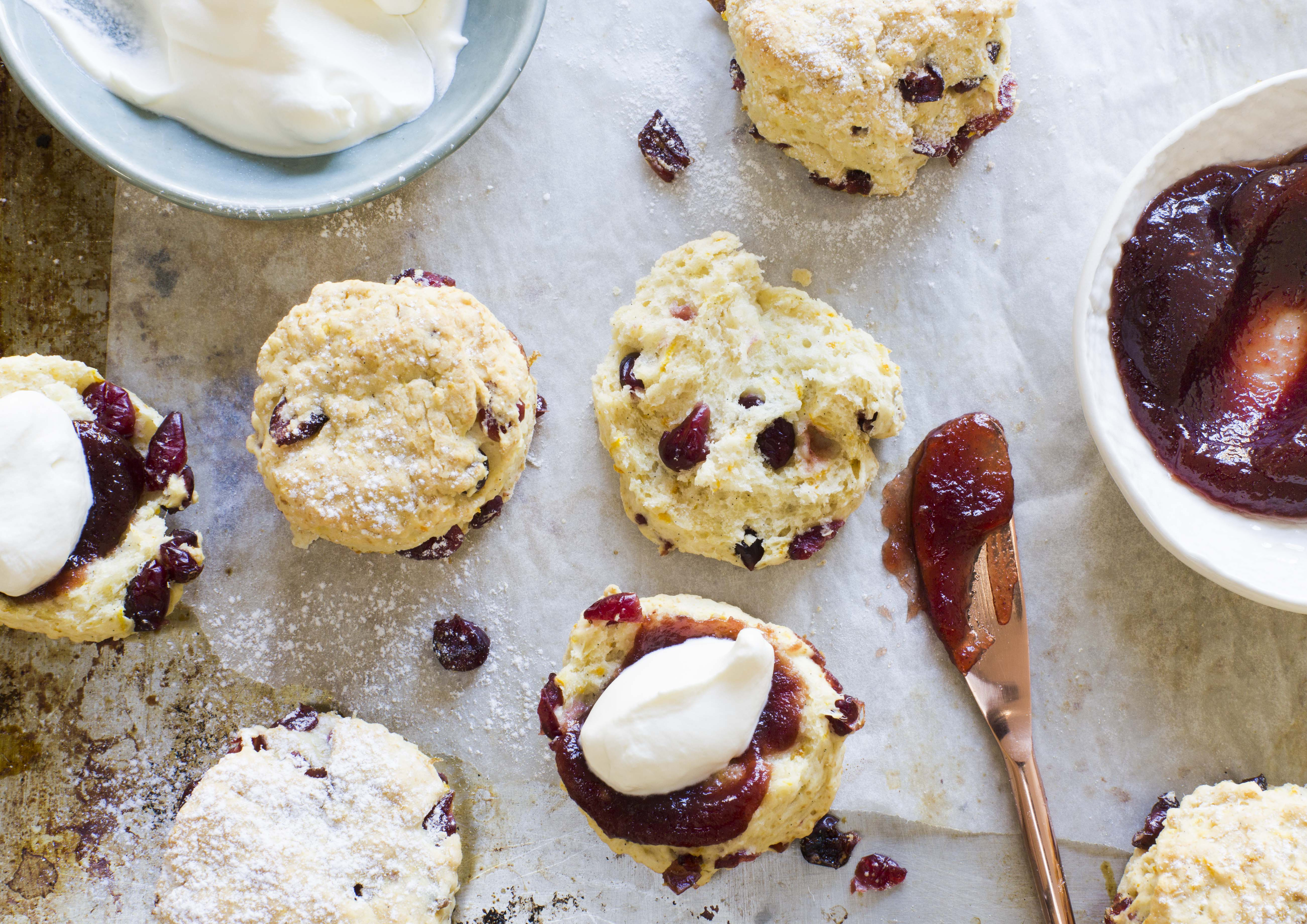 ChelseaWinter.co.nz Easy orange & cranberry scones ...
